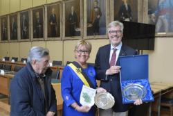 """KIWANIS Club Nordeifel im """"Stadhuis Oostende"""" Oostende empfangen"""