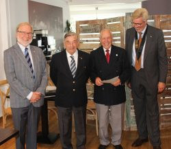Dr. Rolf Bouchery – 40 Jahre aktiv bei Kiwanis Nordeifel